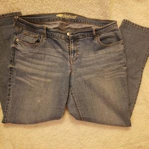 Size 12 old navy boyfriend jeans